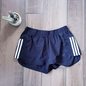 Adidas striped climate shorts L workout